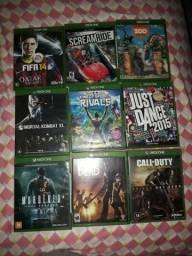 Jogos Xbox one a partir de 50,00 reais.