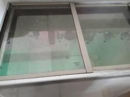 Freezer horizontal 2 tanpas de vidro Fricon
