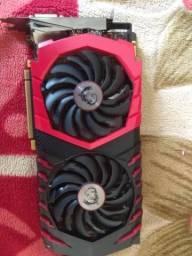 Placa de Vídeo GeForce GTX 1070 MSI Gaming X