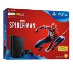 PlayStation 4 Slim Ps4 Slim 1Tb - Novo -Parcelamento em 12x no cartão - C/ Jogo - Ps4