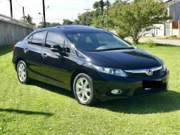 Honda civic exs top de linha 2012 - 2012