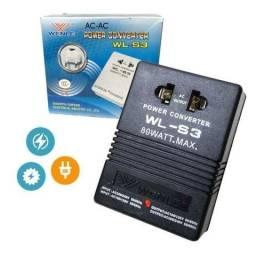 Transformador e Conversor 80w Wl-s3 Wenle 110 220v ou 220 110v Ac Ac Potencia Tomada Casa
