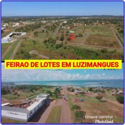 Título do anúncio: Mega feirao de terrenos em luzimangues