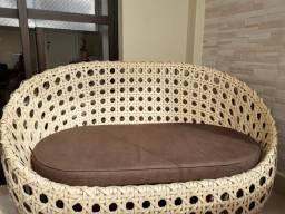Conjunto de sofá para área externa