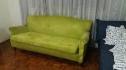 Sofá com almofada assento solta