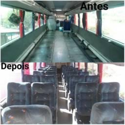 Ônibus reformado , trabalhamos com todo o tipo de reforma interna