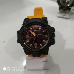 Relógio Masculino Militar Esportivo Digital Smael 1545 Promoção!!! comprar usado  Rio de Janeiro