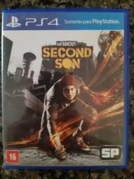 Jogo de Ps4 Second Son