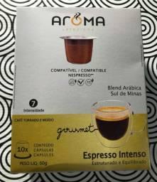 Cápsulas Nespresso café blend arábica