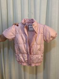 Casaco rosa criança tamanho 10