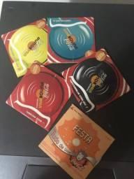 Coleção mini cd?s da coca cola pra colecionador
