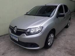 Renault Logan 2018 1.0 completo IPVA 2020 pago R$ 34200,00 - 2018