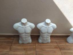 Manequins Busto Masculino