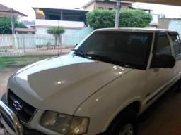 Vendo ou troco por carro ou moto S10 cab dupla 4x4 - 2000
