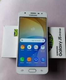 Galaxy J5 prime dourado 32gb - Novinho