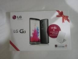 Caixa LG G3+carregador sem fio