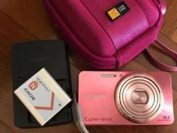 Câmera Fotográfica Sony Cyber-Dsc-w570 rosa