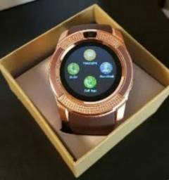 Smartwatch / V8 - Menor preço do RJ ( Centro - RJ ) #Tacompressa