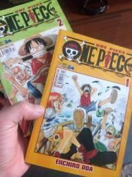 Mangá One Piece 1 e 2