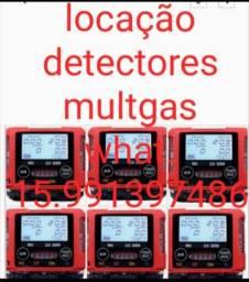 Locação detectores multigas