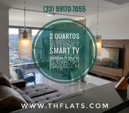 Aluguel Temporada Flat Luxo com Varanda perto do Shopping Governador Valadares 403