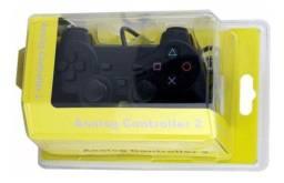 Controle de PS2 Novo Na Caixa