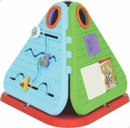 Brinquedo Infantil Pirâmide Didática Festa na Fazenda (Entrega Imediata)