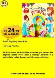 LIVRO POP UP | PETER PAN