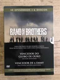 Band Of Brothers - DVD Em perfeito estado, bem conservado sem detalhes nos discos