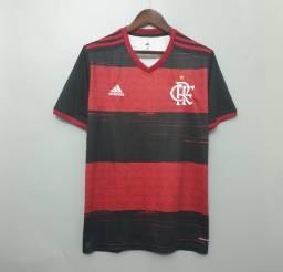 Camisa Flamengo 20/21 Oficial Torcedor Adidas Rubro Negra