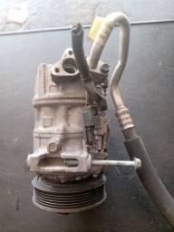 Compressor ar condicionado Nissan Sentra 2015 semi-novo original
