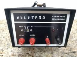 Conversor Estabilizado Keletron - Radio amador- Nunca usado! 13.8 V- 15 A