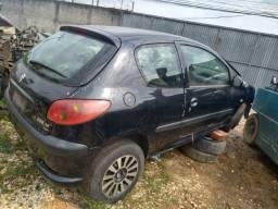 Título do anúncio: Peugeot 206 2007 a 2008 1.4 Flex Usado Sucata para retirada de peças