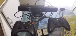 Controle Xbox 360 original + kint 320reais