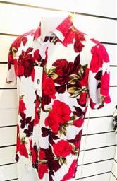 Camisas Florais Rayon Watkins E krown somos loja aceitamos cartões