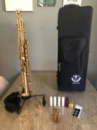 Excelente Sax soprano Profissional Eagle SPX 512