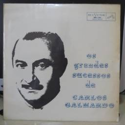 Lp Disco de Vinil Os Grande Sucessos De Carlos Galhardo