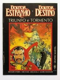 Graphic Marvel n.5 - Dr Estranho e Dr Destino - Triunfo e Tormento [HQ Gibi Quadrinhos]