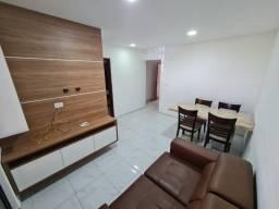 Aeroclube - Alugo apartamento mobiliado, por trás do Carrefour, 2/4, térreo