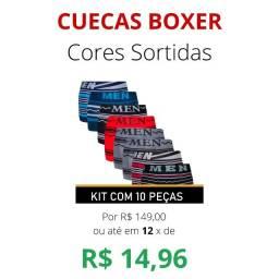 Kit Cuecas Boxer Men Flex Premium 100% 0riginal e de ótima Qualidade.