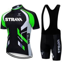 Roupa de ciclismo conjunto Strava