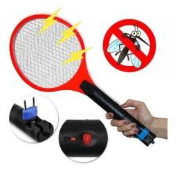 Raquete para matar mosquito recarregavel nova