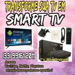 Transforme sua tv em smart + Brinde
