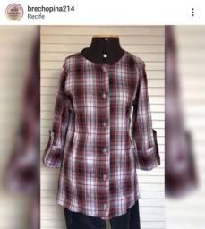 Camisas e vestidos xadrez