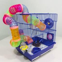 Gaiola Premium para Hamster Completa