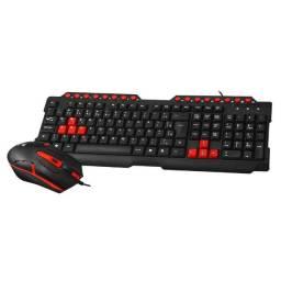 Kit Teclado e Mouse Gamer C3Tech GK-20 (Novo Entrega Garantia)