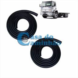 Jogo Borracha Porta - Ford Cargo 1985 A 2012 - 85hbe20530aaw