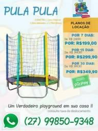 Título do anúncio: Aluguel de pula pulas por 7, 15 e 30 dias - Leve diversão para sua casa ou apartamento