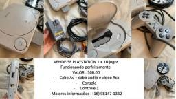 Vende-se Playstation 1