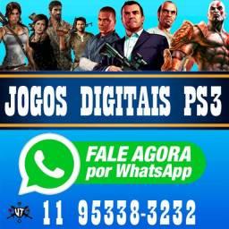 Título do anúncio: Jogos PS3 PlayStation 3 PSN Digitais Originais 1 por R$10,00 ou 3 por R$20,00